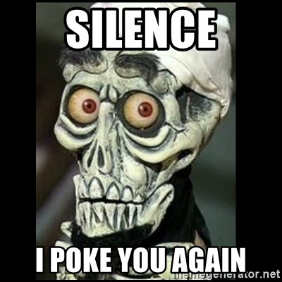 Achmed the dead terrorist - Silence I Poke You again