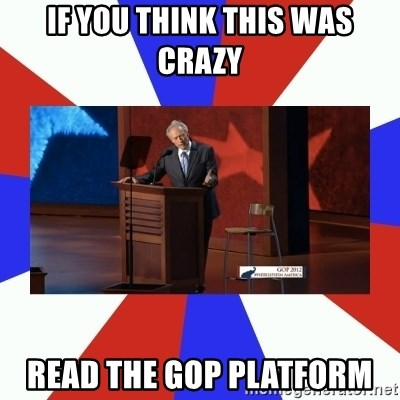 Invisible Obama - if you think this was crazy read the gop platform