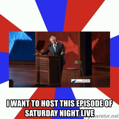 Invisible Obama - I want to host this episode of saturday night live