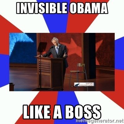 Invisible Obama - Invisible obama like a boss