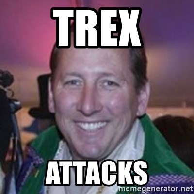 Pirate Textor - TREX Attacks