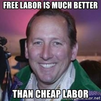 Pirate Textor - Free Labor Is Much Better Than Cheap Labor