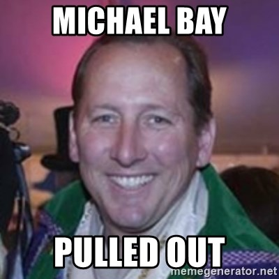 Pirate Textor - michael bay pulled out