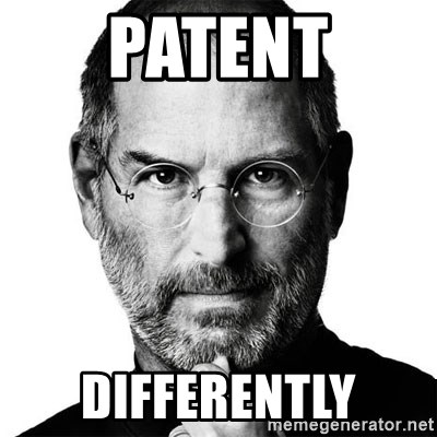 Scumbag Steve Jobs - patent differently