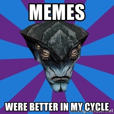 Javik the Prothean - memes were better in my cycle