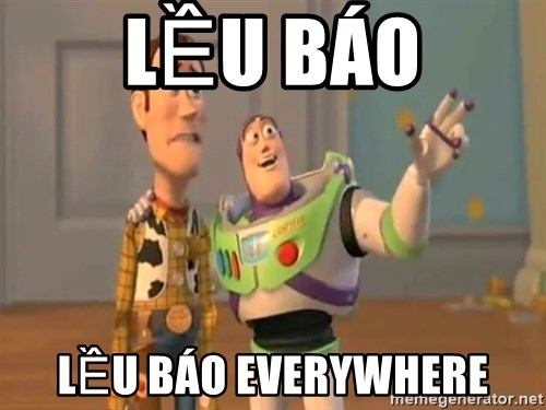 X, X Everywhere  - Lều BÁO LỀU BÁO EVERYWHERE