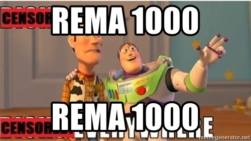 Toy Story Everywhere - REMA 1000 REMA 1000