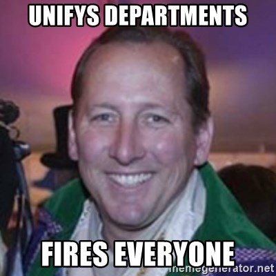 Pirate Textor - Unifys departmenTs Fires everyone