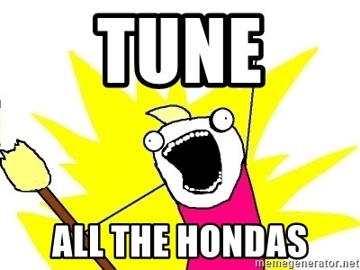 X ALL THE THINGS - tune all the hondas