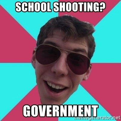 Hypocrite Gordon - SCHOOL SHOOTING? GOVERNMENT