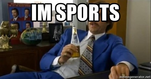That escalated quickly-Ron Burgundy - IM SPoRTs