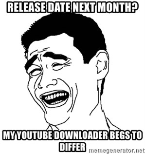 Yaomingpokefarm - Release date next month? my youtube downloader begs to differ