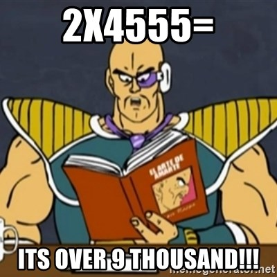 El Arte de Amarte por Nappa - 2x4555= ITS OVER 9 THOUSAND!!!