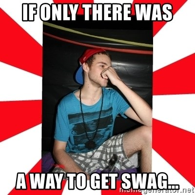 Raurie Brown - if only there was a way to get swag...