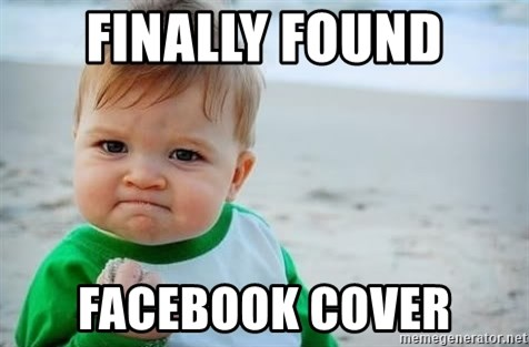 fist pump baby - Finally found facebook cover
