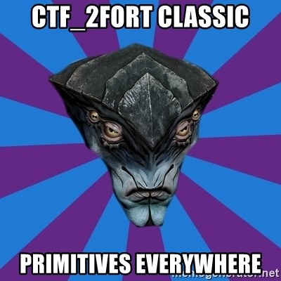 Javik the Prothean - CTF_2FORT CLASSIC PRIMITIVES EVERYWHERE