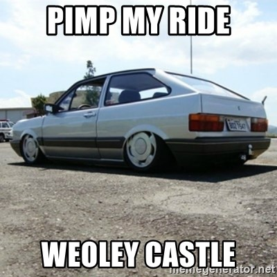 treiquilimei - pimp my ride weoley castle