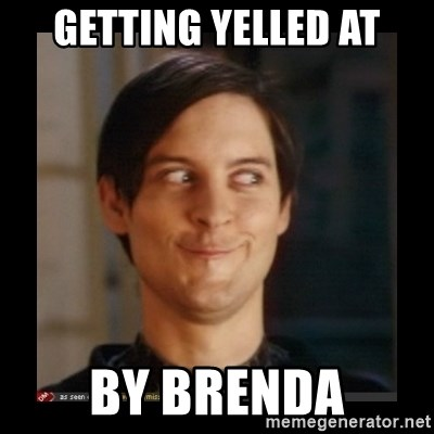 Tobey_Maguire - GETTING YELLED AT BY BRENDA