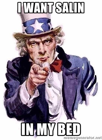 Uncle Sam Says - i want salin in my bed