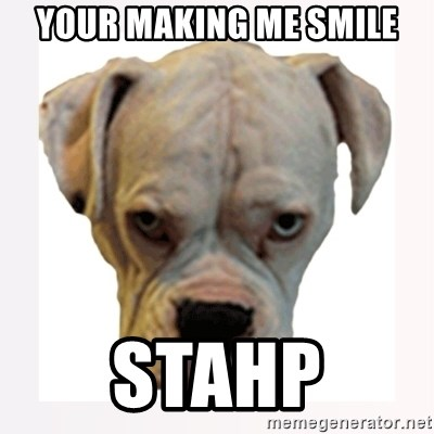 stahp guise - Your making me smile Stahp