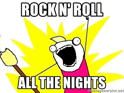 X ALL THE THINGS - rock n' roll all the nights