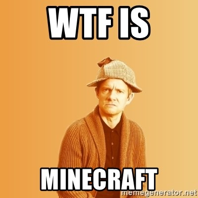 TIPICAL ABSURD - wtf is minecraft