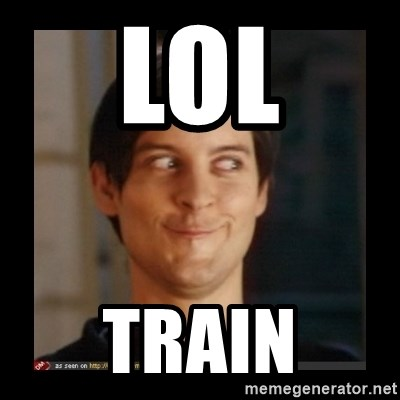 Tobey_Maguire - LOL TRAIN