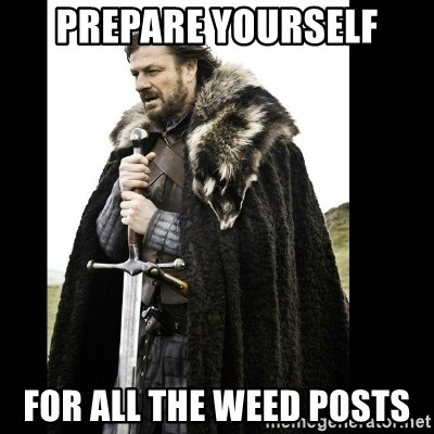 Prepare Yourself Meme - prepare yourself for all the weed posts