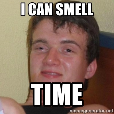 Really Stoned Guy - I can smell Time