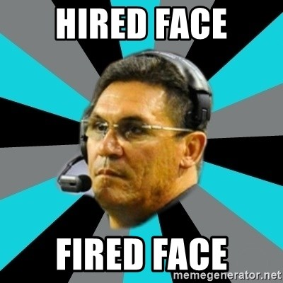 Stoic Ron - Hired face fired face