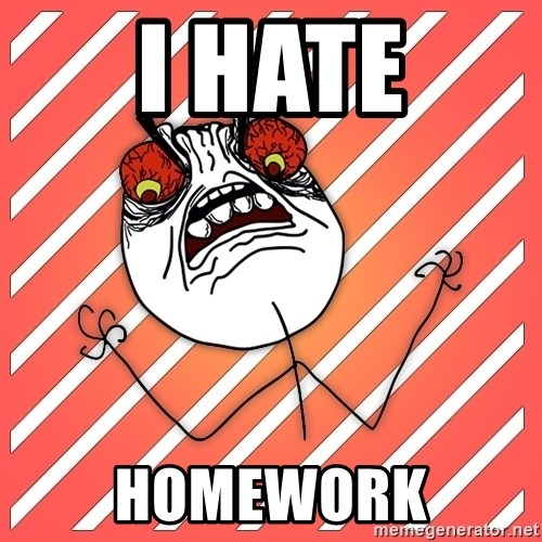 iHate - I HATE HOMEWORK