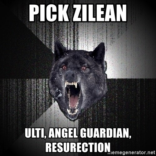 flniuydl - Pick Zilean ulti, angel guardian, resurection