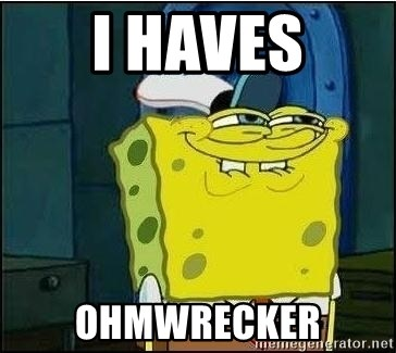 Spongebob Face - i haves ohmwrecker