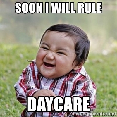 evil toddler kid2 - Soon I will Rule Daycare