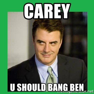 Mr.Big - CAREY U SHOULD BANG BEN