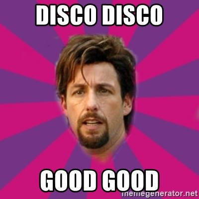 zohan - DISCO DISCO GOOD GOOD