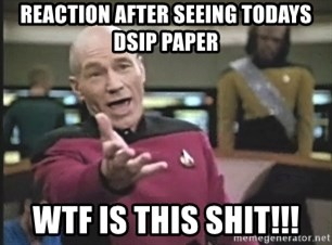 Picard Wtf - Reaction after seeing todays dsip paper wtf is this shit!!!
