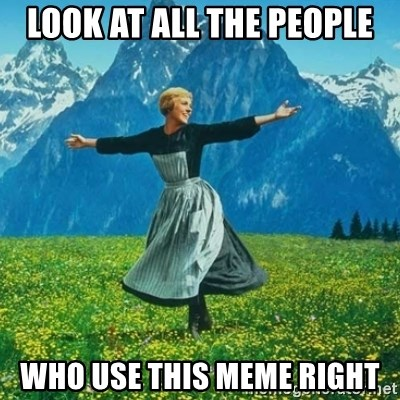 Look at All the Fucks I Give - Look at all the people who use this meme right