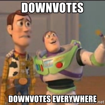 Buzz - downvotes downvotes everywhere