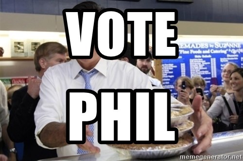 Romney with pies - VOTE PHIL