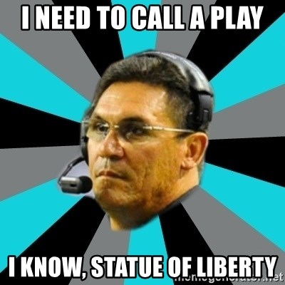 Stoic Ron - I need to call a play I know, Statue of Liberty