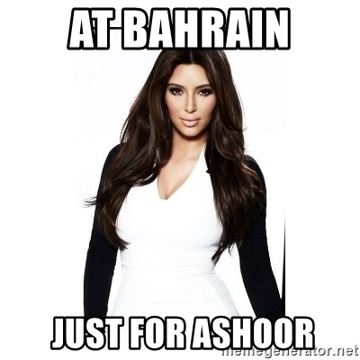 KIM KARDASHIAN - At bahrain  Just for ashOor