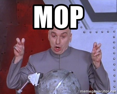 Dr. Evil Air Quotes - MOP