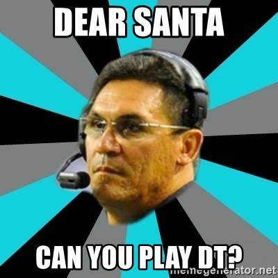Stoic Ron - Dear santa can you play DT?