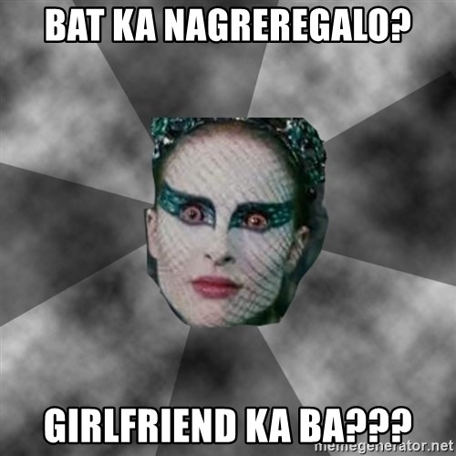Black Swan Eyes - BAT KA NAGREREGALO? GIRLFRIEND KA BA???