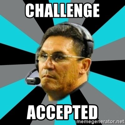 Stoic Ron - challenge accepted