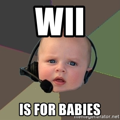 FPS N00b - wii is for babies