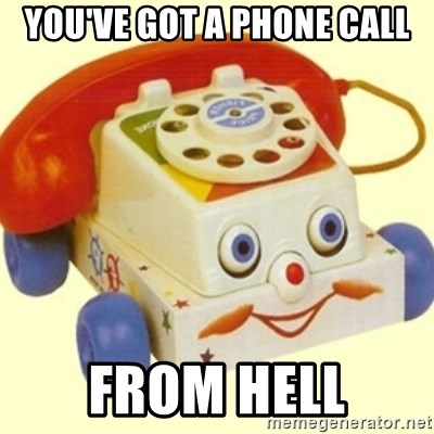 Sinister Phone - You've got a phone call from hell