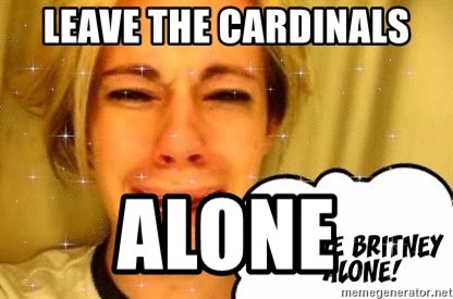 leave britney alone - leave the cardinals alone