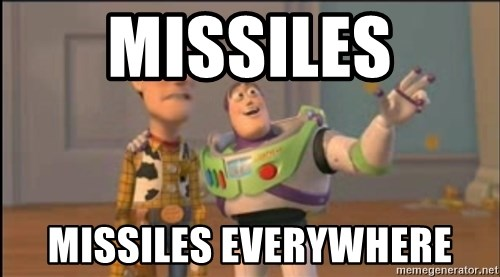 X, X Everywhere  - Missiles MIssiles EVerywhere